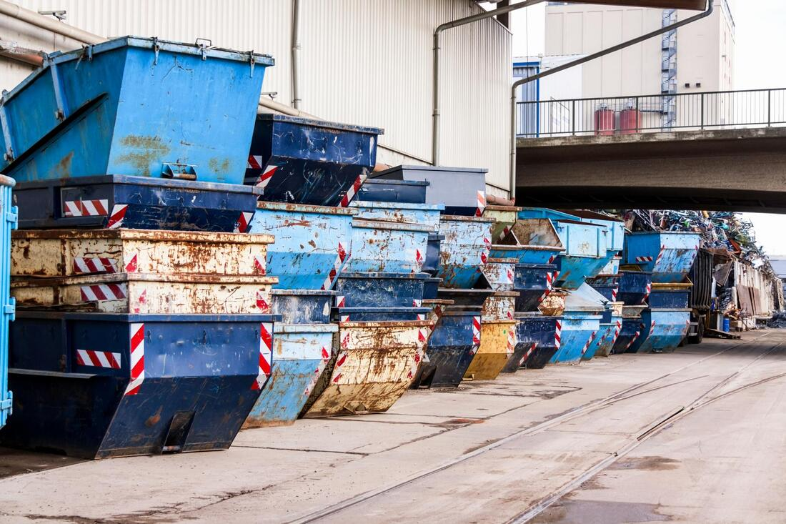 industrial site dumpsters for rent