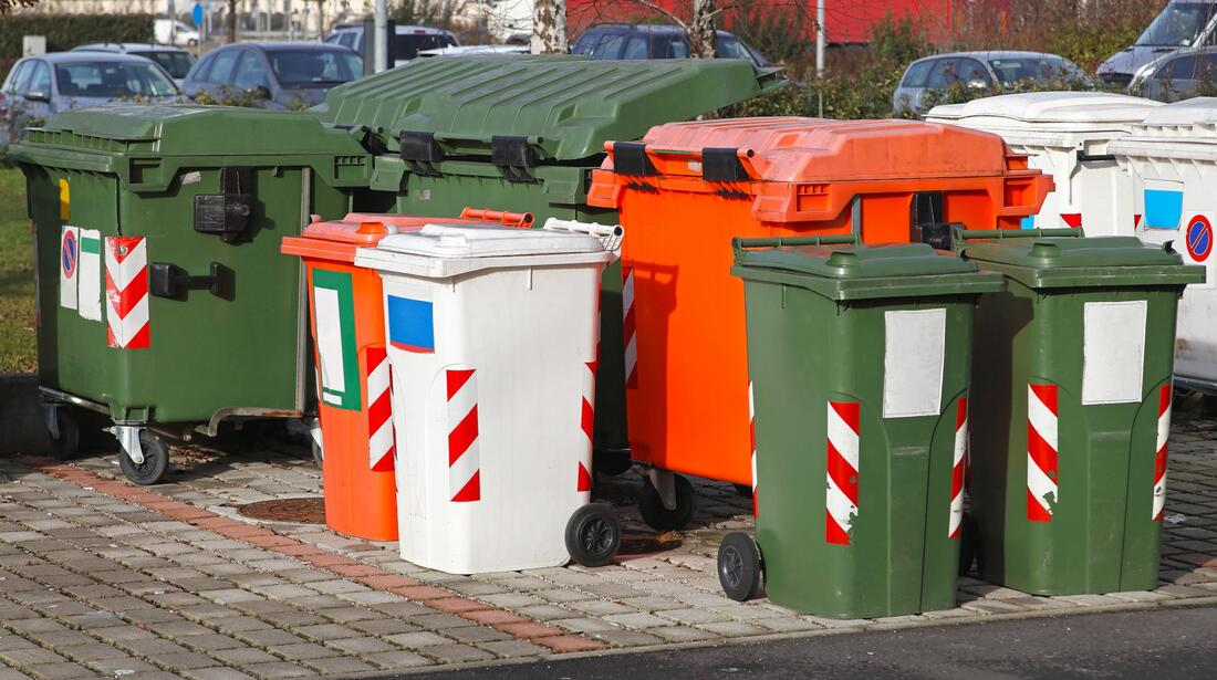 varieties of dumpsters ready for rent
